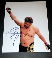 "ROY ""BIG COUNTRY"" NELSON  PP SIGNED 10""X8"" PHOTO REPRO UFC MMA"