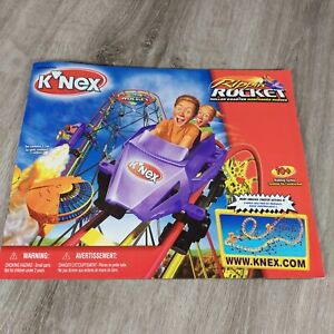KNEX Rippin Rocket Roller Coaster Replacement 1 INSTRUCTION MANUAL Book
