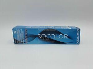 Matrix SOCOLOR ULTRA.BLONDE Ultra Lift Permanent Cera Oil Hair Color ~ 3 fl oz!!