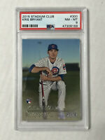 KRIS BRYANT 2015 Topps Stadium Club SP RC #300! PSA NM-MT 8! CUBS! HUGE SALE!