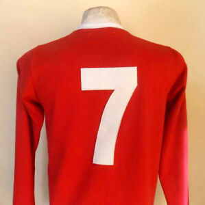 GEORGE BEST Europe Champion 1968 Jersey REPLICA - All Sizes