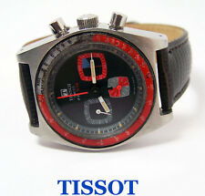 Vintage Mens S/Steel TISSOT PR 516 Winding Chronograph Watch Lemania Cal 871