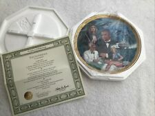 James Bond Thunderball Franklin Mint Plate + Authenticity Certificate