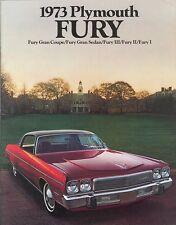 1973 Plymouth Brochure Fury I, II, III/ Gran Coupe+++