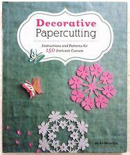 Decorative Papercutting by Akiko Murooka 2013 Hardcover New