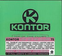 KONTOR - TOP OF THE CLUBS VOL. 75 * NEW 4CD'S 2017 * NEU