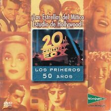"JAMES COBURN - MARILYN - GADNER ""20TH CENTURY FOX - 50 AÑOS"" SPANISH PROMO DVDV"