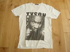 DOLCE & GABBANA   FITTED  FINE COTTON  T-SHIRT  ' MIKE TYSON '  UK  38  RARE