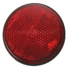 Car Truck Trailer Pickup LED Round Reflector Rear Tail Brake Stop Marker Light