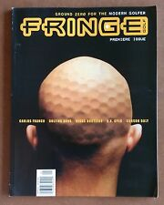 "Premier Issue ""Fringe Golf"" Magazine April/May 2001 Vol. 1 No. 1"