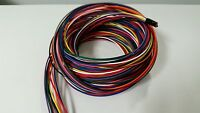 18 AWG TXL HIGH TEMP AUTOMOTIVE POWER WIRE 11 SOLID COLORS 25 FT EACH 275 FEET