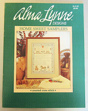 Home Sweet Samplers Alma Lynne Designs #alx-33 Counted Cross Stitch Charts