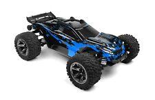 Custom Body Muddy Blue for Traxxas 1/10 Rustler 4x4 Truck Shell Cover