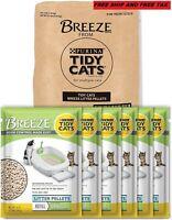Purina Tidy Cats BREEZE Litter System Refills - (6) 3.5 Lb. Pouch
