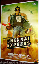 "CHENNAI EXPRESS (2013)  BOLLYWOOD POSTER # 2 SHAHRUKH KHAN 27 ""X 39"""