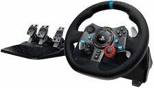 Logitech Dual-Motor Feedback Driving Force G29 Gaming Racing Wheel with Pedels