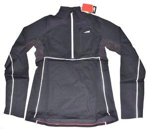 Altra Women's Half Zip Performance Vent Running Cycling Jacket Medium Black Pack