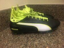 PUMA evoTOUCH 1 FG Soccer Cleats Black 103672-01 Men Sz 10.5