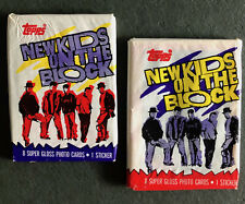 15 New Kids On The Block Trading Card Set 1989 Vintage Lot of Band Cards 80s Mohawk Music Records