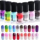 6 ML 20 Colores Temperatura Esmalte Gel de uñas Cambio UV Manicura Pedicura Nail