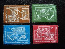 ROUMANIE - timbre yvert et tellier  aerien n° 162 a 165 n** (C5)stamp romania (Z
