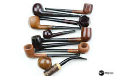 Lot of 10 reject pipes Brulor, Otomatic  unsmoked neuve new from 1960 (ref 6598)