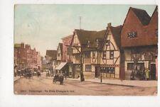 Tonbridge Ye Olde Chequers Inn 1906 Postcard 734a