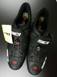 Cycling Bicycle Shoes Sidi Scarpe Wire 2 MattCarbon Zapatillas Ciclismo 44 New