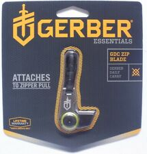 "Gerber GDC Zip Blade Blister 7Cr17 Steel 2.26"" Overall Length 31-001742"