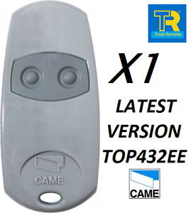 1 X *GENUINE* ORIGINAL CAME TOP432EE REPLACES NA + EV LATEST FOB  FROM CAME