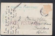 Genealogy Postcard - O'Sullivan - 19 Burdett Avenue, Sandycove, Dublin RF5198