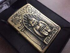 """Very Rare! ZIPPO """"Billiken: Lucky God"""" 3D Statue Lighter Bronze"""