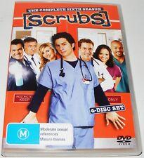 SCRUBS : Season 6--- (DVD, 2007, 4-Disc Set)