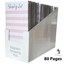 Magnetic Shopping Pad/Memo Tear Off Shopping List Chrismtas Gift Mum Nan Grandma