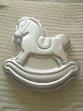 Wilton Vintage Aluminum Cake Pan/Mold 1984 Rocking Horse #2105-2388