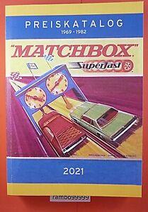Matchbox Superfast Katalog 1969-1982 farbig bebildert über 500 Seiten deutsch