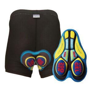 Cycling Padded Shorts Women Men Cycling Gel Padding Underwear