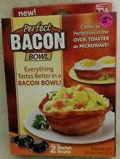 Bacon Bowls As Seen on TV set of 2