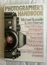 Photographer Handbook, By Michael Busselle,& John Freeman,Hardback Book