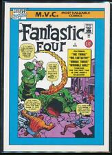1990 Marvel Universe Series 1 Trading Card #124 Fantastic Four #1