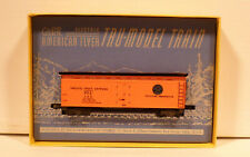 A.C. Gilbert American Flyer HO-123 Pacific Fruit Express Refrigerator Car Boxed!