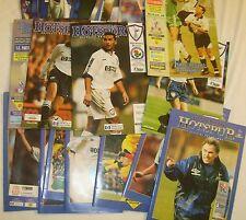 Spurs Football programmes