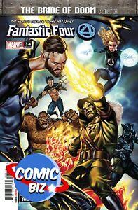 FANTASTIC FOUR #34 (2021) 1ST PRINTING MAIN COVER MARVEL COMICS