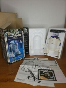 Vintage 1978 Star Wars Radio Controlled R2-D2 Droid Original Box Complete