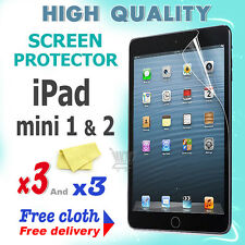 3 new High Quality Screen protective protection film foil for apple iPad Mini 2