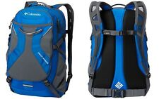 """Columbia Circuit Breaker Daypack Unisex Backpack w/ 17"""" Laptop Compartment, Blue"""
