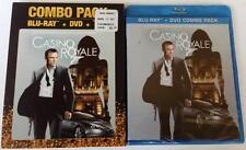 NEW CASINO ROYALE BLU RAY DVD 2 DISC WALMART EXCLUSIVE RARE NEAR MINT SLIPCOVER