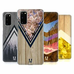 HEAD CASE DESIGNS NATURE WOOD PRINTS BACK CASE & WALLPAPER FOR SAMSUNG PHONES 1