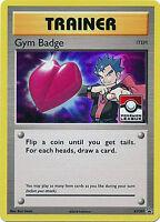 KOGA'S XY207 Holo Gym Badge League Promo Pokemon Card NM+ With Tracking