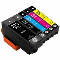 Super 273XL Black/Color Ink non-OEM for Espon XP600 XP620 XP800 XP820 Printers